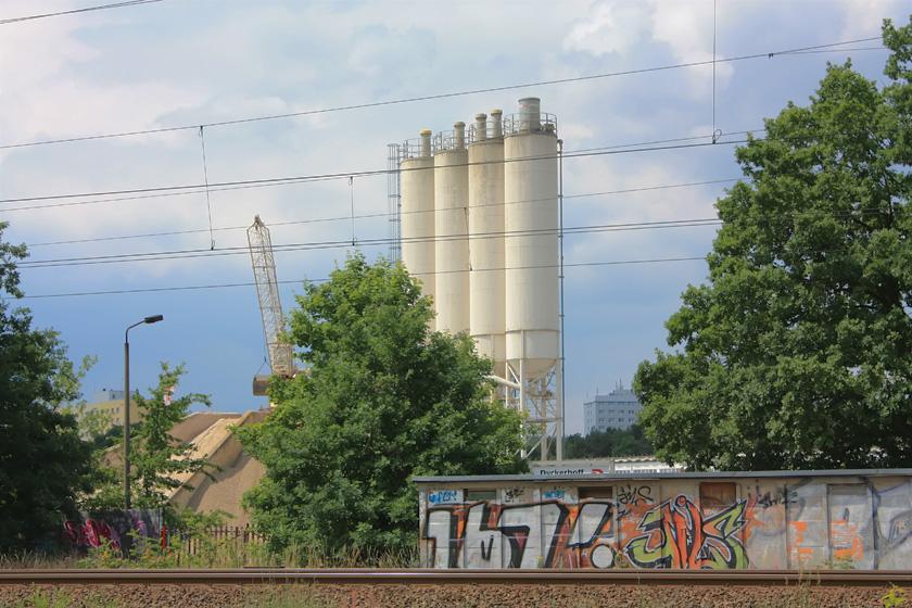 Industrie-Vorort in Potsdam