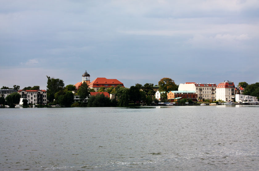 Cloudy weather in Potsdam