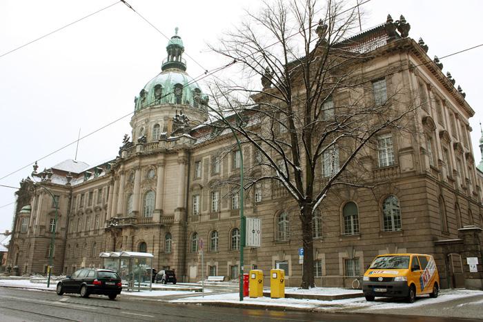 The city hall in Potsdam /Das Rathaus in Potsdam / Городская ратуша в потсдаме